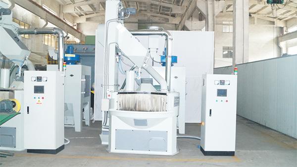 泰盛环保节能型无气喷砂机是为通达公司增产、降能耗