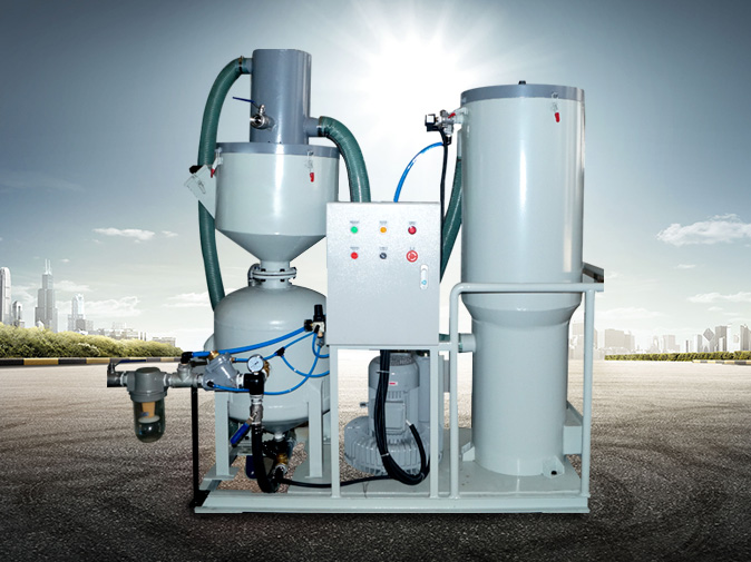 TS-150L环保型自动循环回收式喷砂机