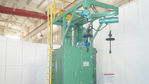 循环回收式环保喷砂机的应用范围有哪些