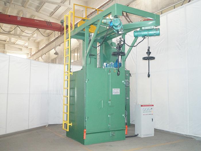 循环回收式环保喷砂机