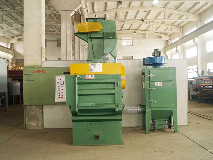 循环回收式喷砂机