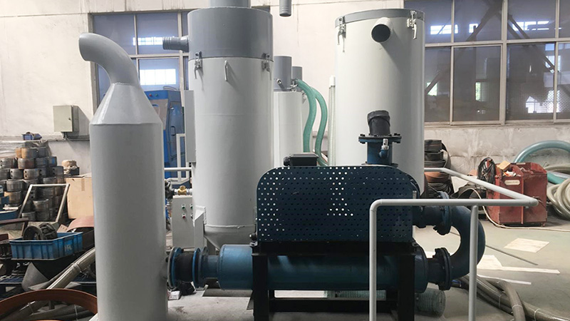 马来西亚客户采购泰盛机械环保无尘喷砂机