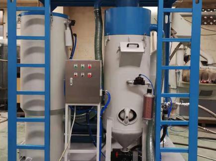 TS-300LC型-自动连续循环回收式环保喷砂机